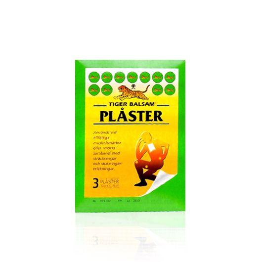 Tigerbalsam plåster är det senaste tillskottet i Tigerbalsam familjen! Det används främst på stora muskelgrupper såsom; Rygg, nacke, lår och vader. Produkten har en mycket effektiv verkan efter mellan 4-6 timmar.   http://www.hairmax.se/tiger-balsam-plaster