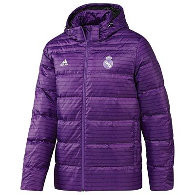 Image of Real Madrid Down Jacket - Purple