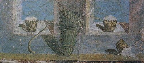 Ricotta e asparagi a Pompei, Casa dei Vettii #laviadegliabruzzi