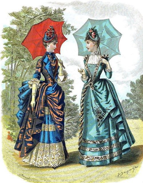 jailagracedunearchiduchesse:  Fashions of 1886