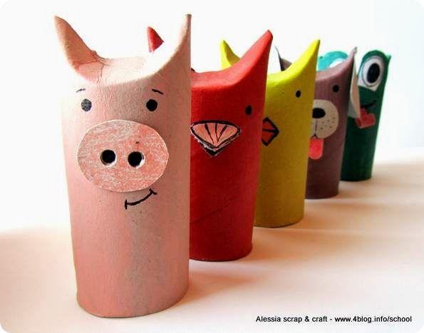 Oltre fantastiche idee su animali di carta pinterest