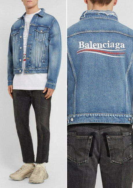 5ef5488860f05 4 Extremely Cool Balenciaga Men s Denim Jackets in 2018