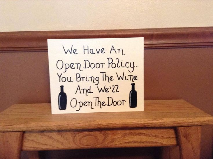 Come check out the items in my #etsy shop. Here's one:  We Have An Open Door Policy... You Bring The Wine And We'll Open The Door - Funny Wooden Sign/Decor For Wine Lovers http://etsy.me/2zxupk0 #homedecor #entrywaysign #welcomesign #giftforwinelovers