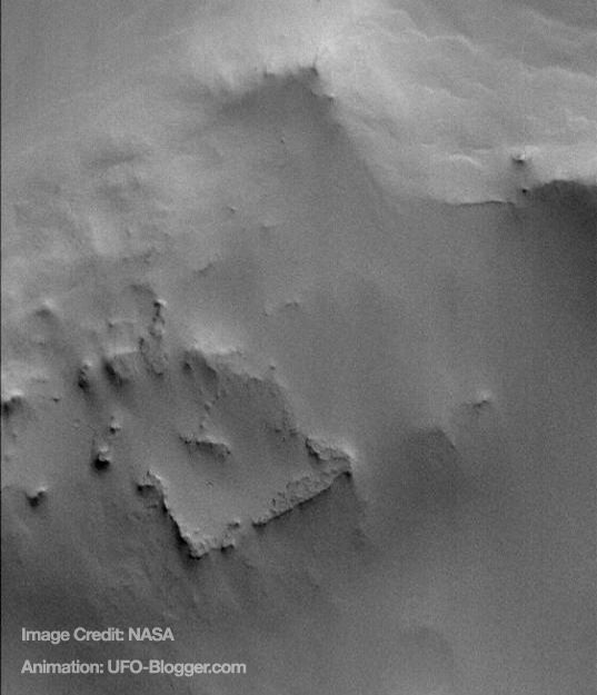 'Archaeological Site' On Mars Spotted In NASA Mars Photo - Latest UFO Sightings, Alien, UFO News, Top Secret, Aliens, New Movies
