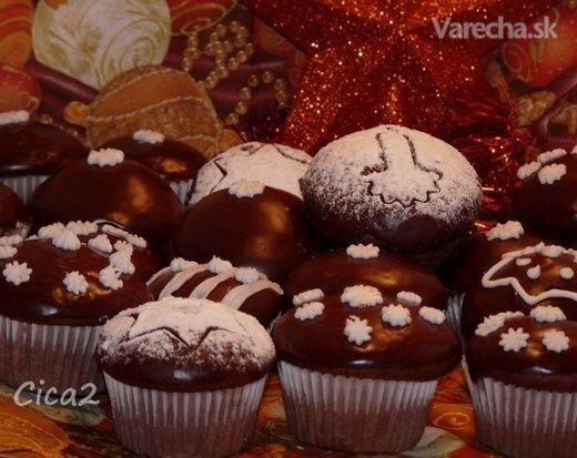 Vianočné perníkové muffiny (fotorecept)
