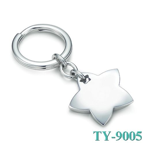 Tiffany and co Two Stars Key Ring jewelry This Tiffany Jewelry Product Features: Category:Tiffany & Co Key Ring Material: Sterling Silver Manufacturer: Tiffany And Co Tiffany Key Ring is now popularly worn by young fashionable girls as well as mature traditional women. Tiffany and Co Jewelry is accumulated with altered abstracts to advance added designs this season