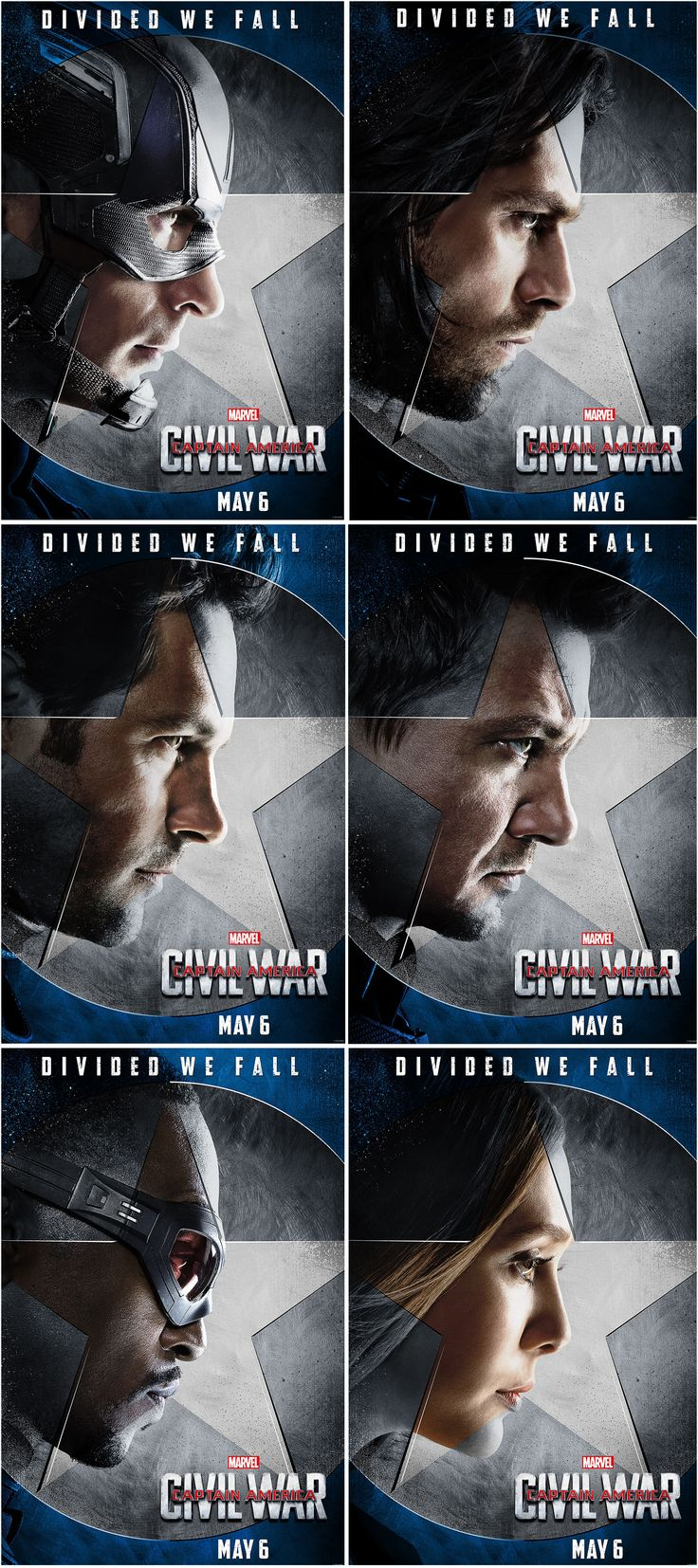 Capitan America: Civil War: Equipo del Capitan