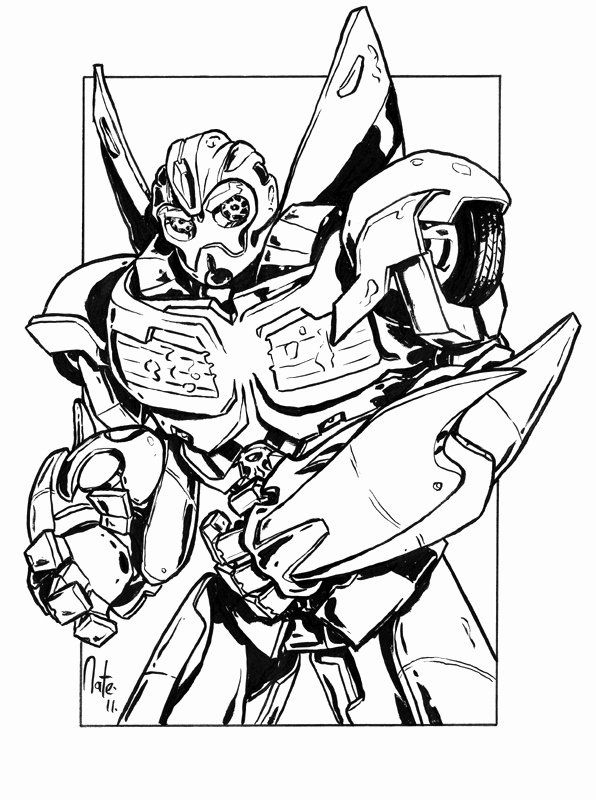 28 Bumblebee Transformer Coloring Page Transformers Coloring