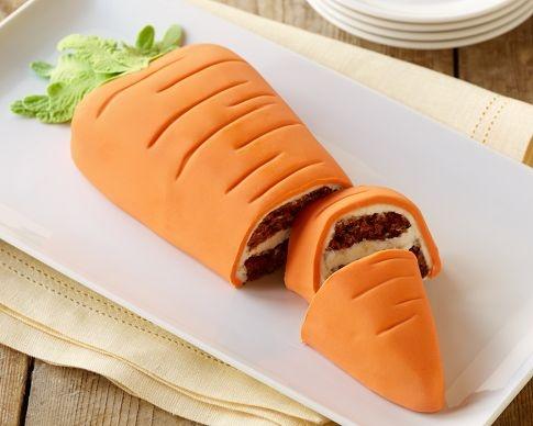 Für die österliche Kaffeetafel: Karottenkuchen Mehr