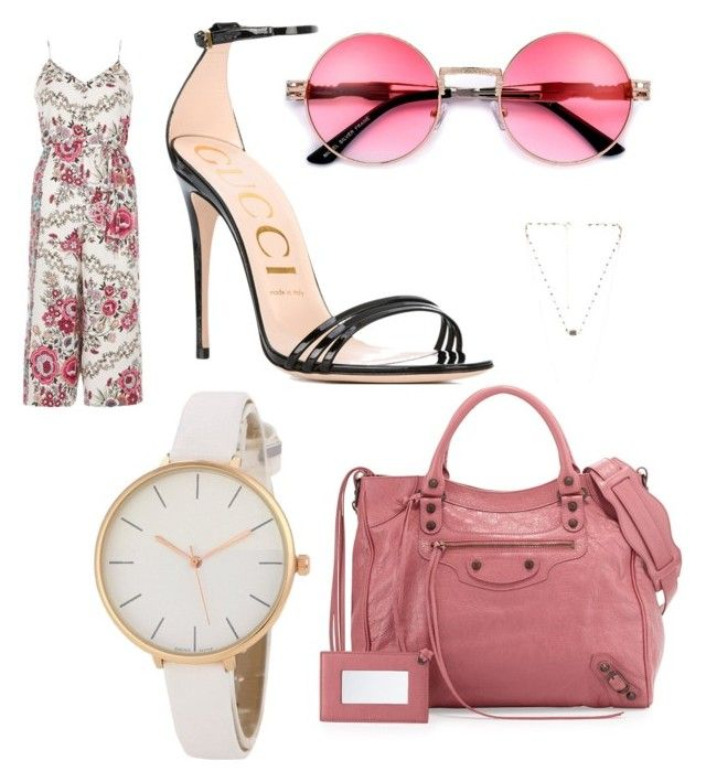 """""""Sans titre #3"""" by misleydy on Polyvore featuring mode, River Island, Gucci, 8 Other Reasons et Balenciaga"""