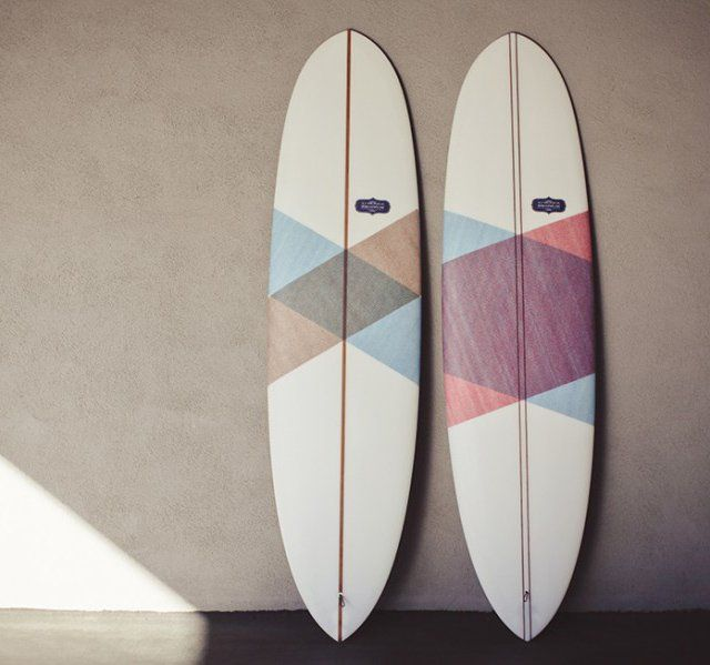 Mini-Longboard Surfboard. Crafted by hand with USA-made materials. Sports & Outdoors for your wedding registry.