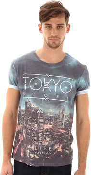 White Tokyo Printed T-Shirt on shopstyle.co.uk