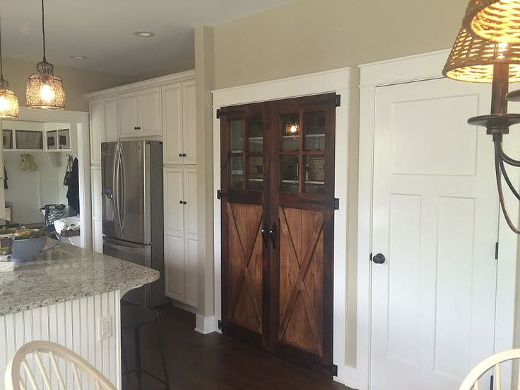 Reclaimed Barn Wood Pantry Doors   We Custom Make Furniture For All Rooms  Of The Home Using 100+ Year Old Authentic Reclaimed Barn Wood. Showroom  Located In ...