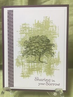 Stamp with Anna: Stampin Up, You've Got This, Lovely As a Tree, Sympathy, Washi Tape