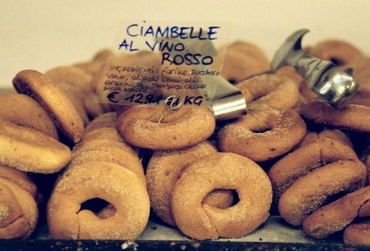 Ciambelle al vino rosso - Koekjes met rode wijn