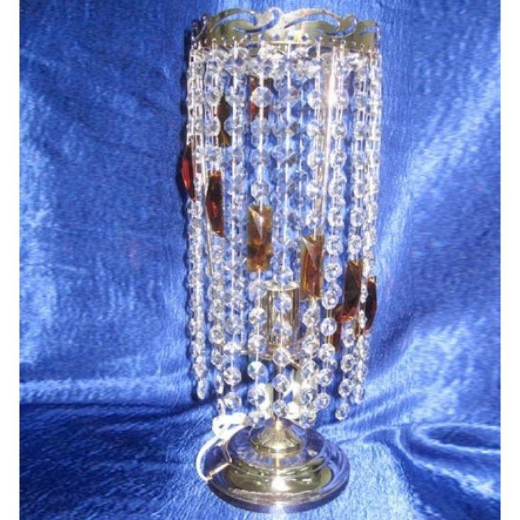 Купить настольную лампу хрустальную Анжелика ёлочка цветная в интернет-магазине ЛюксСвет +7 (4922) 60-02-05, низкая цена от производителя из Гусь-Хрустального, фото, отзывы