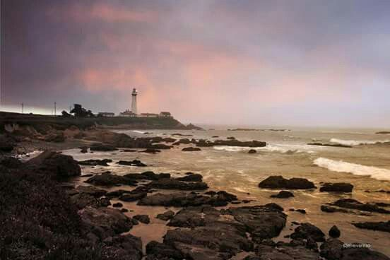 Pigeon Point Lighthouse, Pacific Coast of California, 1871._In your towering built, you seem stoic, undaunted! At times indifferent, other times unmoved. But no one knows your heart. I too seem unsure as if you find it safer to be a complete stranger. You got your reasons. One thing is sure.. your beam of light gives hope to many who are struggling, and aids to navigate my path even when I don't ask for it.