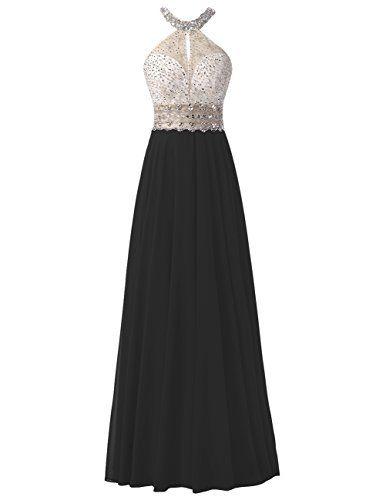 Dresstells® Long Chiffon Halter Neck Prom Dress With Bead... https://www.amazon.co.uk/dp/B01KNYNZMC/ref=cm_sw_r_pi_dp_x_.O4uybAWTTTZB