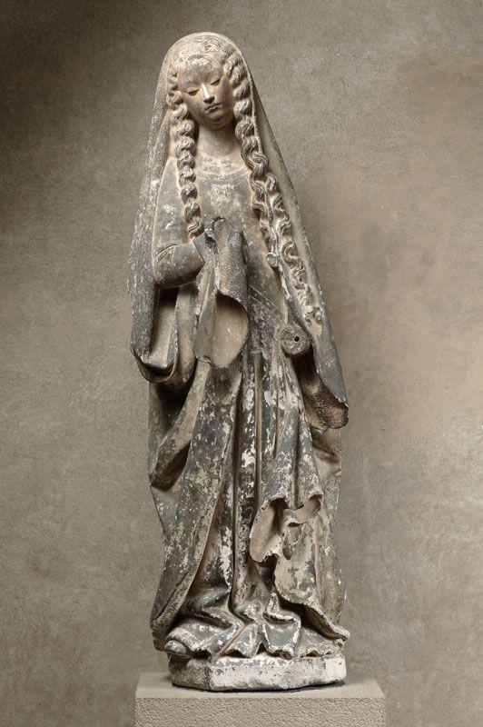 Magdalena  Anònim s.XV Museu del Agustins, Tolosa