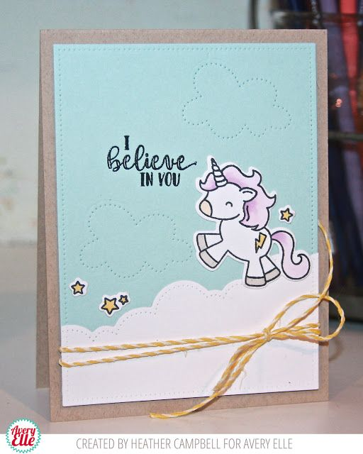 110 best avery elle images on pinterest clear stamps homemade heather magical unicorn m4hsunfo