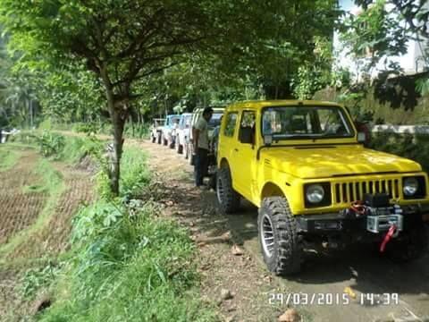 Offroad di mangunan bantul, Yogyakarta