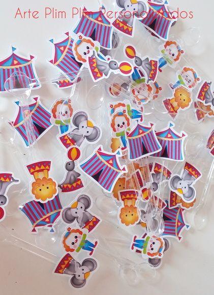 50 Colherzinha Decorada - Circo