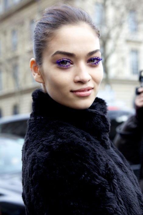 "Purple Mascara - A ""crazy"" beauty product that might actually be wearable"