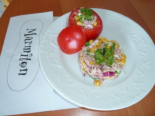 Photo de recette Tomates farcies froides - Marmiton