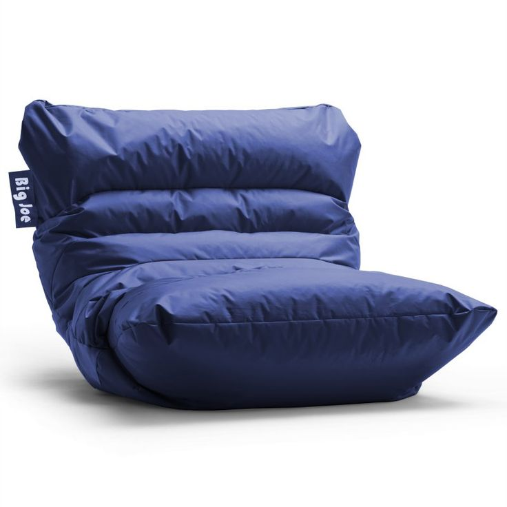 Big Joe Roma Bean Bag Chair Sapphire