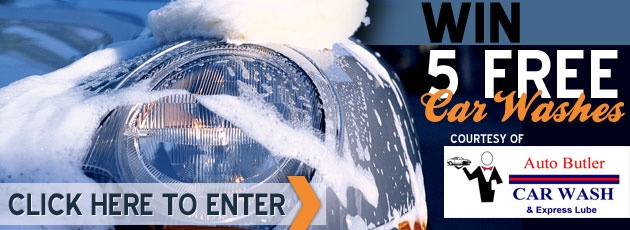 Enter to Win 5 FREE Car Washes - Contest | RiverBender.com
