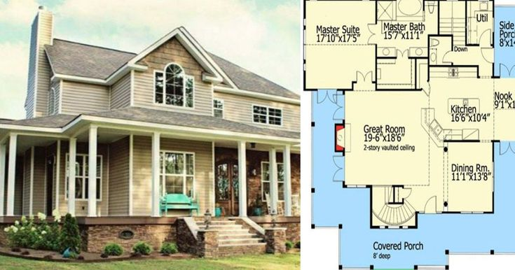 Get inspired by these 6 farmhouse layouts