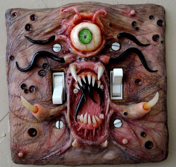 light switch halloween horrorfall