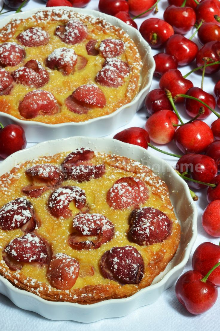 Clafoutis alle ciliegie (Cherry Clafoutis)
