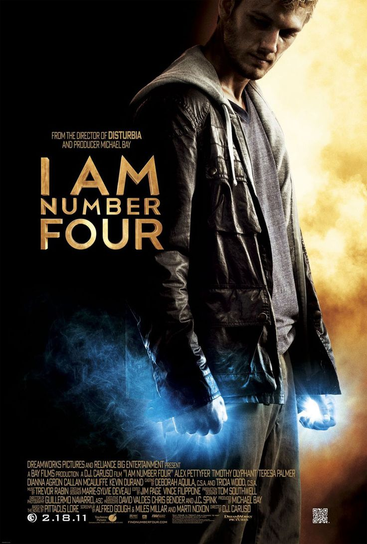 DreamWorks has released a new movie poster for I AM NUMBER FOUR. Directed by D. Caruso and starring Alex Pettyfer, Teresa Palmer, Dianna Agron