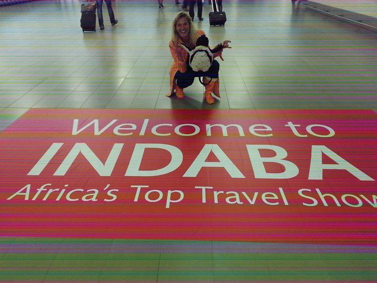 Sally and Pablo arriving in Durban in Tourism Indaba 2014.   http://www.capepointroute.co.za/