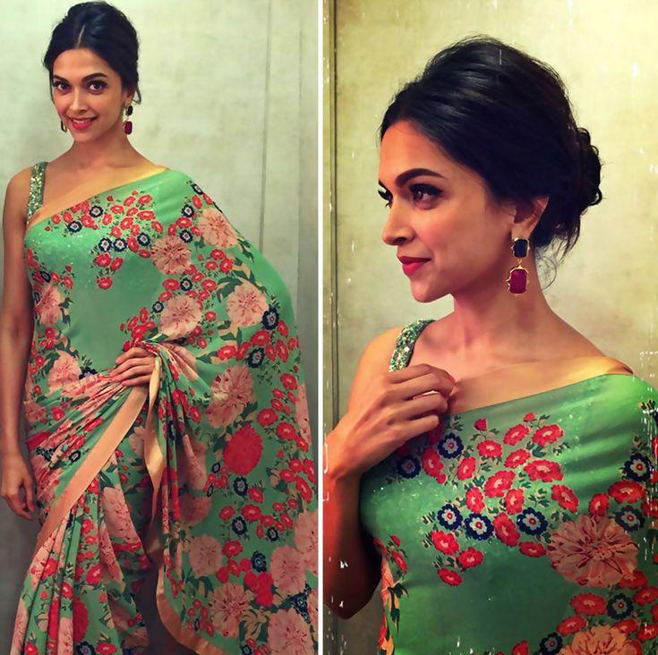 Deepika Padukone's Official Blog Site | Photos, Videos, Photosho — Deepika Padukone looking gorgeous in Green Flower...