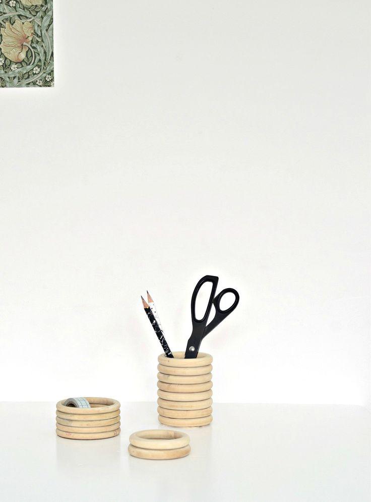 make your own pen holder diy   www.homeology.co.za