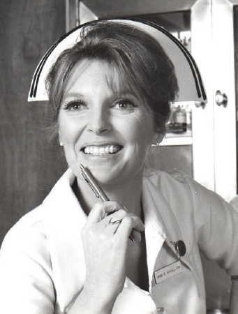 """Julie London played """"Dixie McCall, R.N"""" on """"Emergency!"""". She's one of my favorite nurses on the show"""