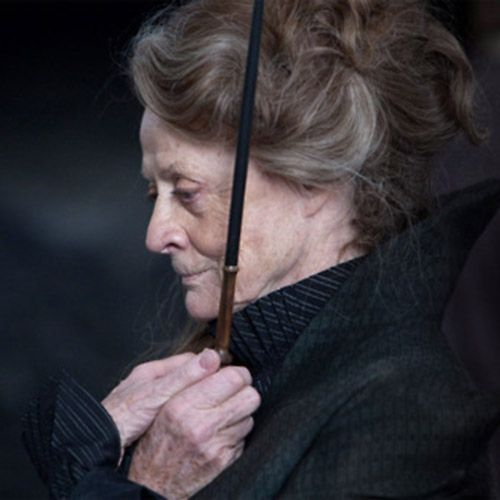 """Harry Potter.' Maggie Smith. (love this actress.)"