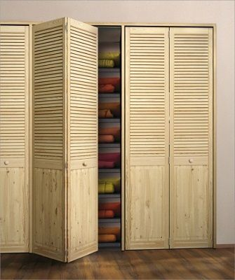Складные двери и дверки жалюзийного типа - инструкция по установке. В каких помещениях удобно устанавливать складные двери? |