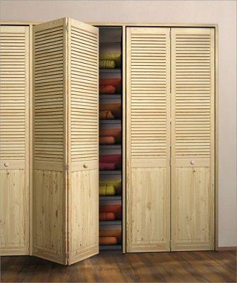 Дверцы шкафа жалюзийные