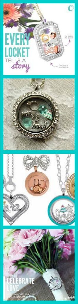 Check out Origami Owl's Bridal Collection for yourself! We have lockets and keepsakes for the whole bridal party! #wedding #bridalparty #gift
