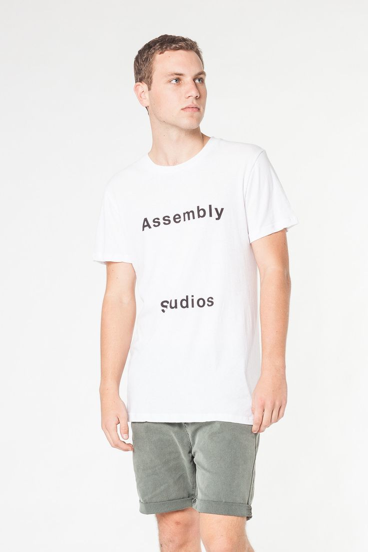 NOMA TEE WHITE - TEES AND TANKS - SHOP MENS Assembly Label