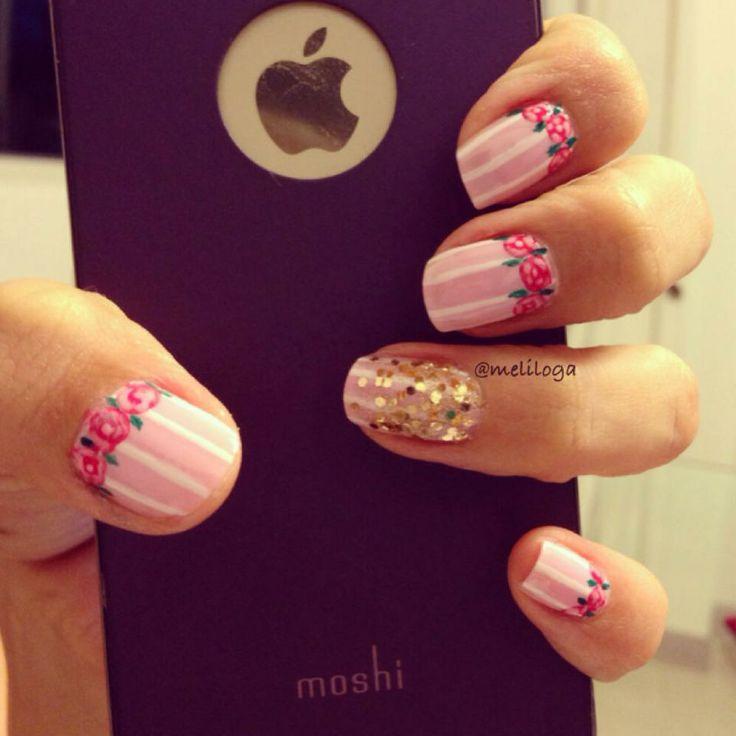 Diseño de Liliana López #inspiration #nails #masglo