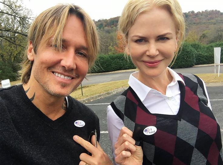 Nicole Kidman and Keith Urban's Most Swoon-Worthy Couple Moments - At the Polls, 2016 from InStyle.com