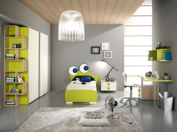Cute Chic Fancy Adorable And Attractive Kids Bedroom Decoration Idea With Mickey Mouse And Frog Ornament  Sponsored Links, Tuesday, June 28, 2011 Category: Interior Designs, Kid Room Designs, Luxury      I would of loved this room when I was younger! Very chic and modern.