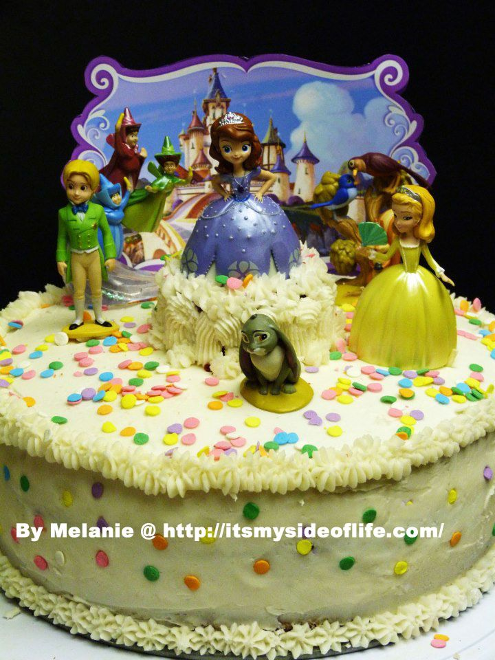 Birthday Cake Image For Josie : sophia the first sheet cake My Side of Life: Sofia the ...