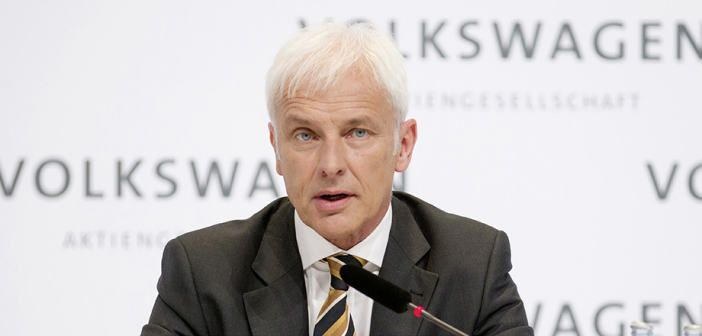Matthias Muller Is The New CEO Of Volkswagen Group