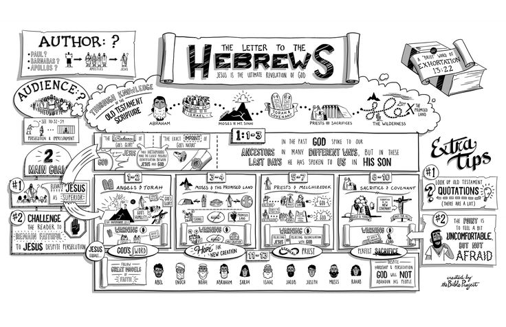 The Bible Project: The Book of Hebrews Poster