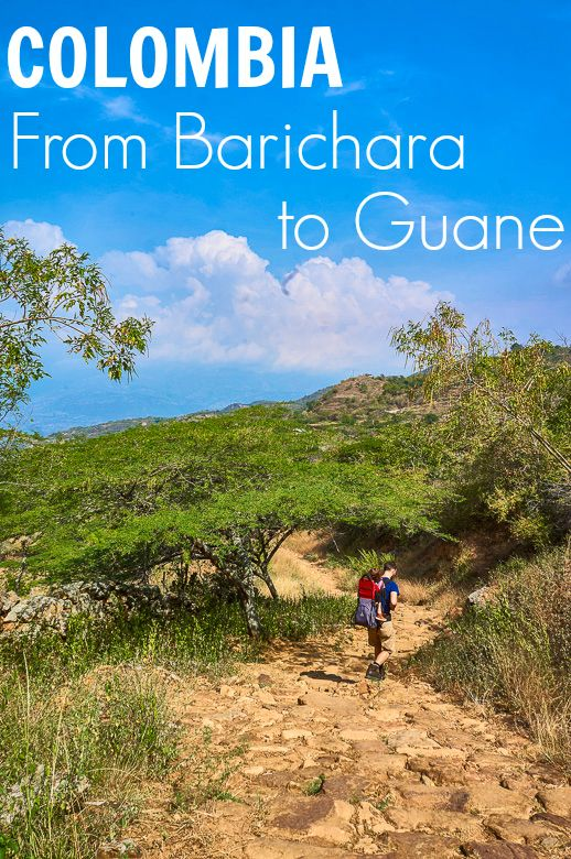 Walking From Barichara to Guane